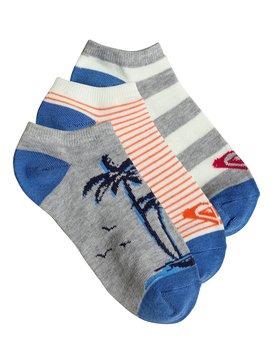 Hawaiian Paradise - No-Show Socks - 3 Pack  PS083622T
