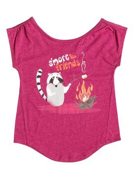 INF SMORES FRIENDS TEE Rosa RRF51531