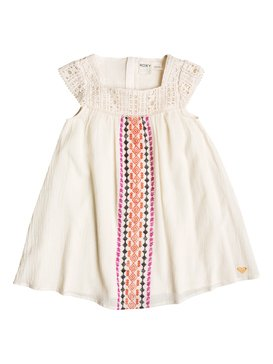 LIT TIKI FLAIR DRESS Blanco RRF58116