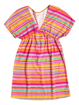 BIG STRIPED COVER UP Rosa RRF58397