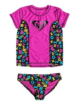 INF POP RASHGUARD SET Rosa RRF58601