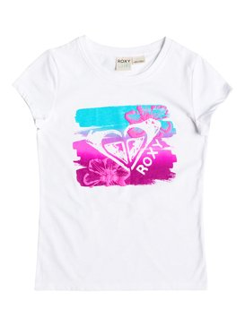 Girl's 2-6 LUSTER Short Sleeve Tee White RRF61326