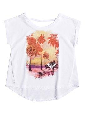 Girl's 2-6 DIZZY Short Sleeve Tee White RRF61446