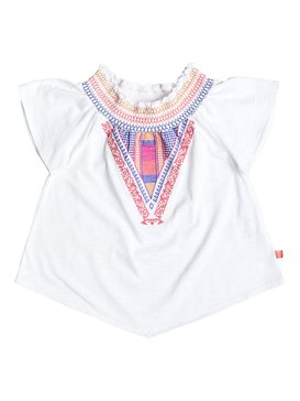 Girl's 7-14 ISABELA TOP White RRF61637