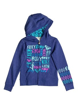 Girl's 7-14 TIME COAST Zip Hoodie Blue RRF62057