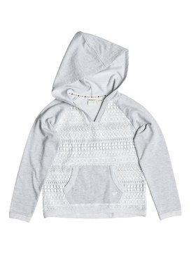 Girl's 7-14 LACE BE Friends Pullover Hoodie  RRF62107