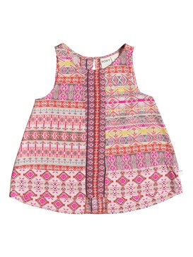 Girl's 7-14 Sunset Escape Tank Orange RRF65127