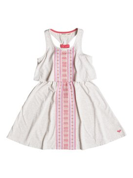 Girl's 2-6 STARBOARD Dress Beige RRF68056