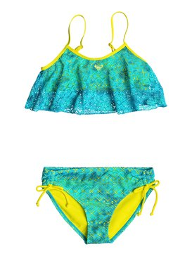 Girl's 7-14 Crochet Cutie Flutter Set Green RRF68507