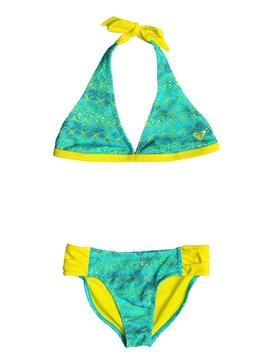 Girl's 2-6 Crochet Cutie Halter Set Green RRF68526