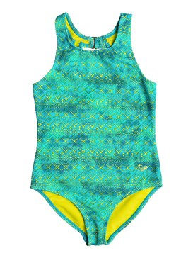 Girl's 2-6 Crochet Cutie One Piece Swimsuit Green RRF68536