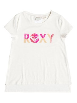 BIG ROXY LOVE SS TEE White RRH51177