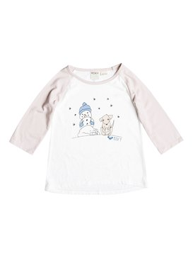 LIT SNOW PUPPY TEE White RRH51346