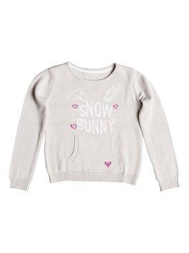 Girls 2-6 Snow Bunny Sweater  RRH56146