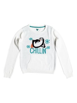 LIT CHILLIN SWEATER White RRH56156