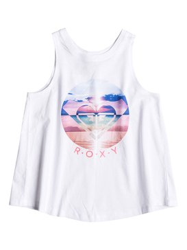 Girls 7-14 We Go Montigo Tank White RRM61217