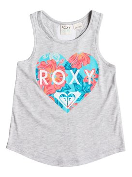 Girls 7-14 Break Time Tank Grey RRM61307