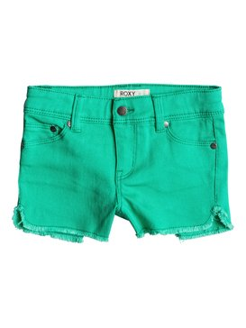 Girls 7-14 Miami Break Shorts Green RRM65107