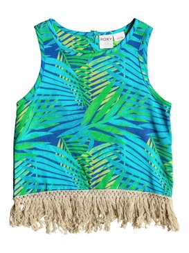 Girls 7-14 Luau Love Top Purple RRM65277