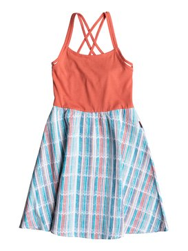 Girls 7-14 Maui Beach Dress Pink RRM68137