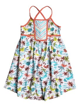 Girls 2-6 Vintage Tiki Dress White RRM68166