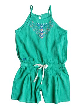 Girls 7-14 Summer Rain Romper Green RRM68297