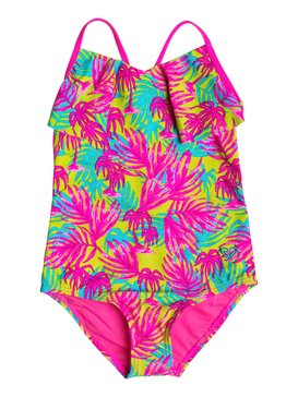 Girls 2-6 Paradise Beach One Piece Swimsuit  RRM68566