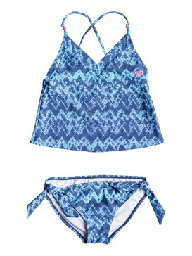 Girls 7-14 Summer Escape Tankini Set  RRM68617