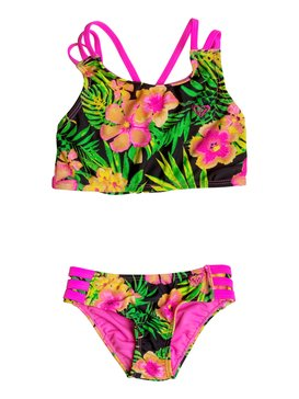 Girls 7-14 In The Tropics Crop Set  RRM68737