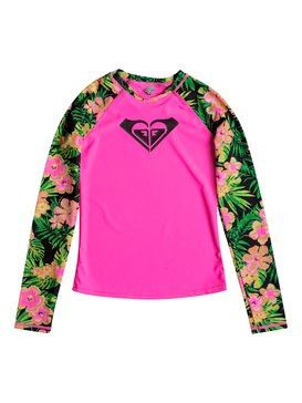 Girls 7-14 In The Tropics Rashguard  RRM68747