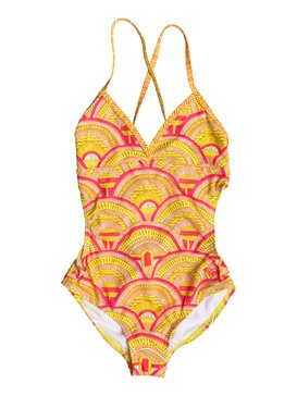 Girls 7-14 Sunrise Summer One Piece Swimsuit  RRM68877