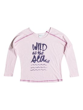 BIG WILD SEA RAGLAN TEE Rosa RRS51497