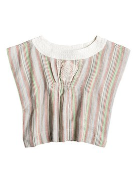 Girl's Geo Fizz Stripe Poncho  RRS55076
