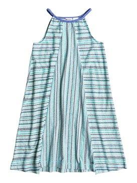 BIG BRAID TRIM KNIT DRESS Azul RRS58017