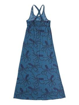 BIG OCTOPUS MAXI DRESS Azul RRS58137
