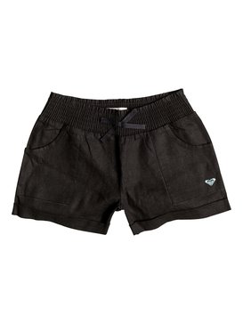 Girls 7-14 Beach Comber Shorts Black RRX55117