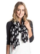 Twist Twirl - Printed Straight Scarf for Women - Roxy