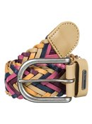Glide High - Braided Leather Belt for Women - Roxy