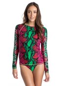 ROXY X House of Holland Viper- Rash Vest for Women - Roxy