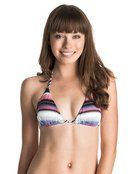 Livin Free Reversible Tiki - Triangle Bikini Top for Women - Roxy