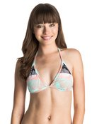 Pop Surf Sunkissed Binded Tiki - Triangle Bikini Top for Women - Roxy