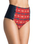 Pendleton Northern Post High Waisted - Bikini Bottoms for Women - Roxy