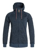 Resin Knit - Zip-Up Hoodie for Women - Roxy