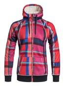 Resin Bonded Sherpa - Zip-Up Hoodie for Women - Roxy