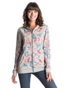 Surf City - Zip-Up Hoodie for Women - Roxy