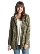 Lana Beach Printed - Hooded Long Jacket for Women - Roxy