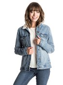 Sandy - Denim Jacket for Women - Roxy