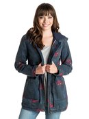 Primo Printed - Parka Style Jacket for Women - Roxy