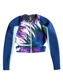 Caribbean Sunset - Cropped Wetsuit Jacket for Women - Roxy