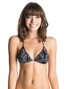 ROXY Logo Zigzag - Bikini Top for Women - Roxy